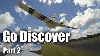 getlinkyoutube.com-HobbyKing Go Discover wing (part 2) flight test