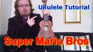 getlinkyoutube.com-Super Mario Bros - Ukulele Tutorial