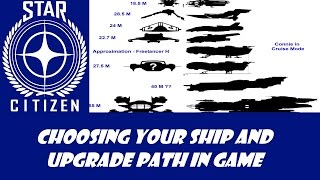 Star Citizen: Choosing your ship; now and later!