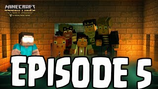 "getlinkyoutube.com-Minecraft: Story Mode - Herobrine Sighting? EPISODE 5 ""Order Up"" Appearance?"