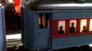 getlinkyoutube.com-The Polar Express Lionel Trainsounds Tender and Conductor Car