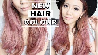 getlinkyoutube.com-New Hair Colour! FULL DEMO! Dark Asian Hair to Pink