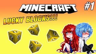 getlinkyoutube.com-Minecraft [Lucky Blocks] #1 - เปิดกล่องมหาภัย