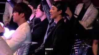 getlinkyoutube.com-20141203 Bobby Bi reaction to GD TAEYANG fancam