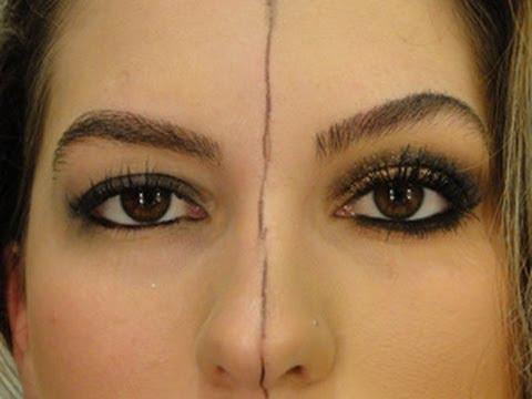 Como você se maquiava antes e como se maquia agora por Alice Salazar