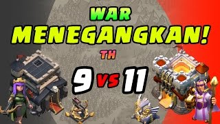 WAR PALING TAK ADIL - Clash of Clans INDONESIA