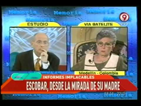 INFORMES IMPLACABLES - Madre de Escobar en entrevista ¿Por qué no se habla de lo bueno de su hijo?