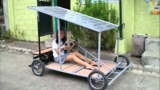 getlinkyoutube.com-Solar Powered Kart Made in the Philippines