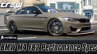 getlinkyoutube.com-The Crew Wild Run: BMW M4 F82 Perf Spec (Customization + Test Drive) [60 FPS]
