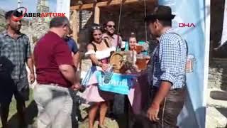 Datça'da Almanlar Ekim Festivali'nde buluştu