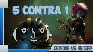 getlinkyoutube.com-TODOS POR UM #2 - ORIANNA VS RENGAR! - 5 CONTRA 1 ( ͡° ͜ʖ ͡°)