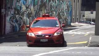 getlinkyoutube.com-2nd Alarm Fire Response, Pitt St, Auckland NZ, Feb 2011