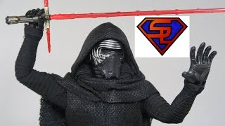 getlinkyoutube.com-Star Wars The Force Awakens Hot Toys Kylo Ren Movie Masterpiece 1/6 Scale Collectible Figure Review