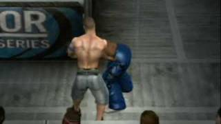 getlinkyoutube.com-Smackdown vs Raw 2010-Hell in a Cell- Created Superstar: Joc Bush vs John Cena 1/2