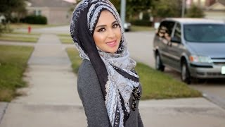 getlinkyoutube.com-Everyday Hijab Tutorial (with twisted back!)