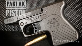 getlinkyoutube.com-First Shots!  Heizer Defense AK Pocket Pistol