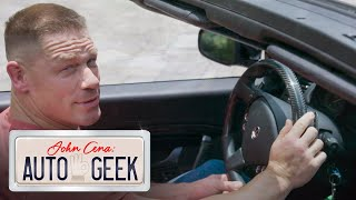 John Cena compares his MASERATI to a bad relationship!? - John Cena: Auto Geek