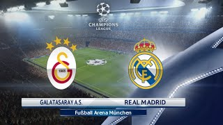 getlinkyoutube.com-PES 2016 - Galatasaray vs Real Madrid | CHAMPIONS LEAGUE PS4