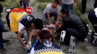 Erzincan'da katliam gibi kaza araç ikiye bölündü 3 Ölü 8 Yaralı