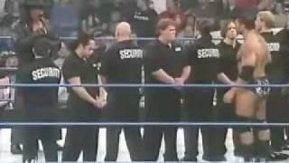 Undertaker and Batista Interview Fight