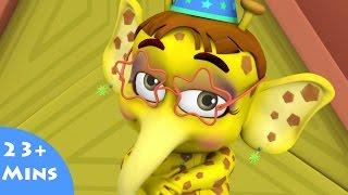 getlinkyoutube.com-Boris Birthday ✿ Bommi & Friends ✿ Chutti TV | Tamil Moral Short Stories For Kids |3D Animation