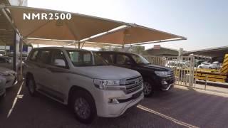 getlinkyoutube.com-تويوتا لاندكروزر  2017  VXR وارد البحرين تصوير HD  لؤلؤي واسود  من داخل بيج