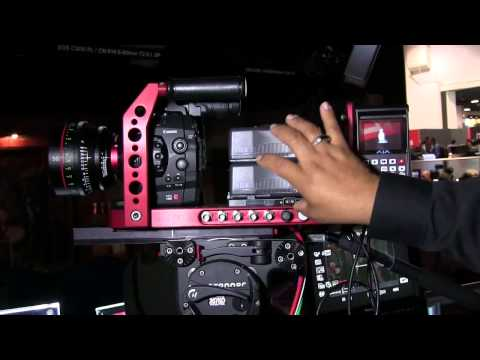 NAB 2012 - Cmara 4K de Canon EOS C500