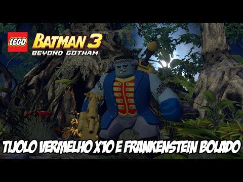 Lego Batman 3 - TIJOLO VERMELHO X10 e Frankenstein BOLADO