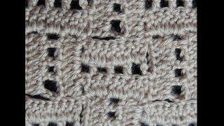 getlinkyoutube.com-Crochet : Punto Escalera # 2