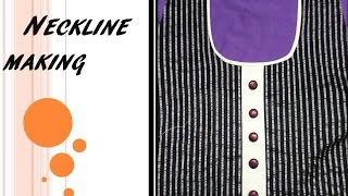 getlinkyoutube.com-Neckline   Tutorial