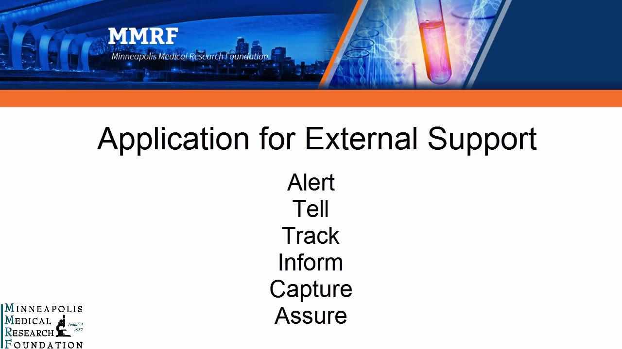 HHRI Internal Application for External Support