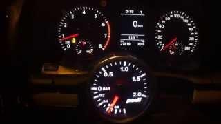 VW Scirocco 1.4 TSI DSG 0-200 km/h Acceleration