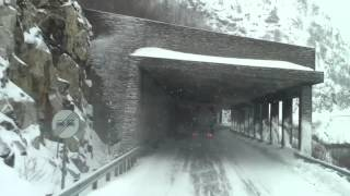 getlinkyoutube.com-Winter roads in Norway 2012 with the new FH 16