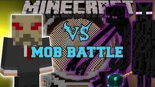 getlinkyoutube.com-MUTANT ENDERMAN & ENDER LORD VS SCARECROW - Minecraft Mod Battle - Mob Battles - Super Villains Mods