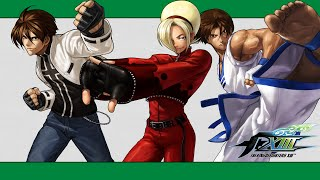 "getlinkyoutube.com-KoF XIII: 100% combo video (Ash, EX Kyo, Kim ""teams"")"