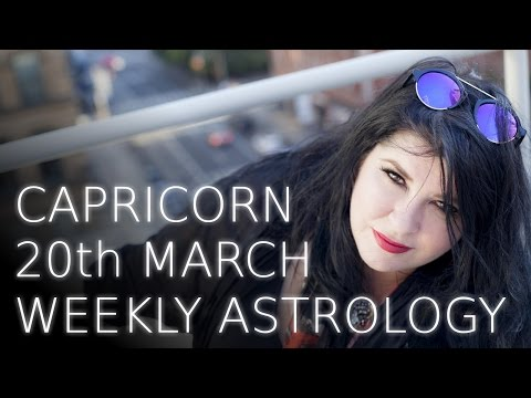 Capricorn Weekly Astrology Forecast 20th March 2017