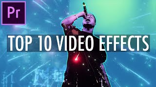 My Top 10 Favorite Video Effects in Adobe Premiere Pro CC! (Editing Tutorial - How To)