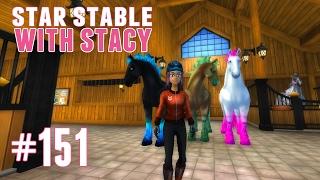 getlinkyoutube.com-Star Stable with Stacy #151 - Jorvik Wild Horses!