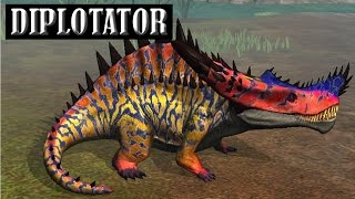 getlinkyoutube.com-DIPLOTATOR  LVL 40 - NEW HYBRID Jurassic World The Game