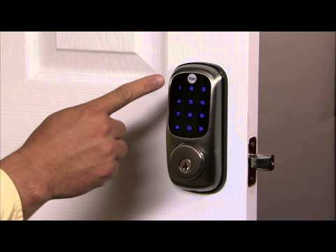 Yale Real Living Touchscreen Deadbolt Programming - All Code Lockout Mode 11