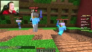 EN FEIG TAKTIKK?! | Crazy Walls - minigames | Norsk Minecraft