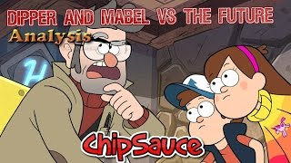 getlinkyoutube.com-Gravity Falls - Dipper And Mabel VS The Future Preview Analysis!