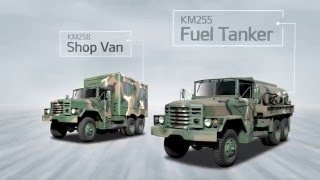 getlinkyoutube.com-Kia military vehicle - Product range