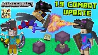 getlinkyoutube.com-ENDER FIGHTERS? WHAT THE SHULKER? Minecraft 1.9 Combat Update!  (FGTEEV Dad vs. Sons Battle)