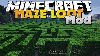 getlinkyoutube.com-Minecraft - MAZE MOD - GENERATED MAZES WITH LOOT