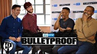 Noel Clarke & Ashley Walters Bulletproof Interview | Sky One width=