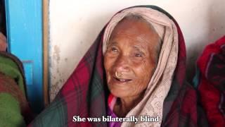 Vishnu Maya was Carried Into a Himalayan Eye Camp (Mother's Day)