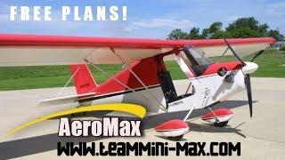 getlinkyoutube.com-FREE TEAM Mini-Max ultralight aircraft and experimental amateurbuilt aircraft plans.