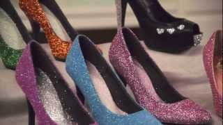 getlinkyoutube.com-Learn with Jo-Ann: How to Embellish Shoes with Glitter, Paint & Rhinestones