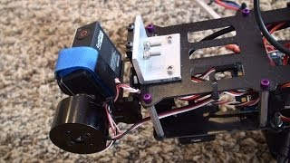 getlinkyoutube.com-Ebay GoPro 3 Gimbal Modified to Staight Front Mount Brushless Motor Gimbal on Iconic X